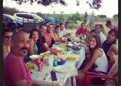 comida-campera-final-de-curso-intensivo-adiestradores-EFPC-2013-Madrid